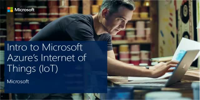 Intro to Microsoft Azure's Internet of Things (IoT)