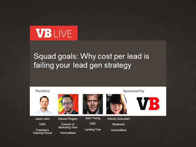 Squad goals:  Why cost per lead is failing your lead gen strategy