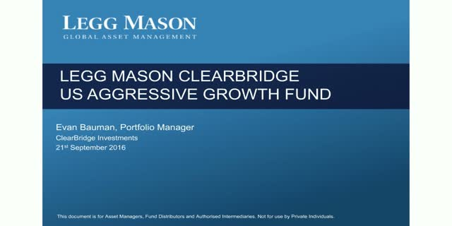 Legg Mason ClearBridge US Aggressive Growth Fund: Manager Update