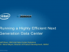 Running a Highly Efficient Next Generation Data Center