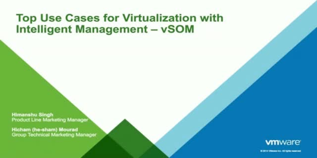Top Use Cases for Virtualization with Intelligent Management