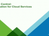 Taking Control: Automation for Cloud Services
