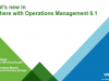 What's New in vSphere with Operations Management 6.1?