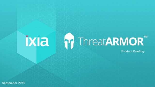 Ixia Security MegaCast