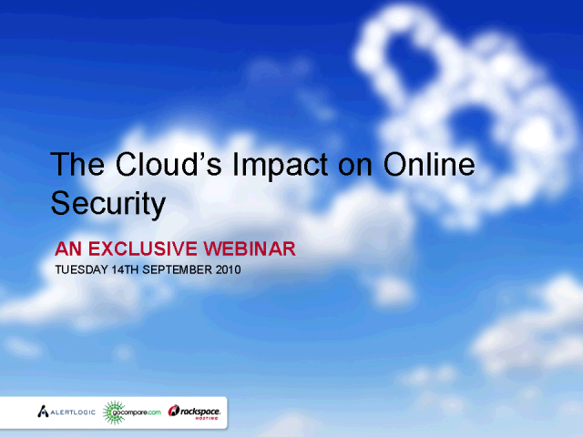 The Cloud's Impact on Online Security