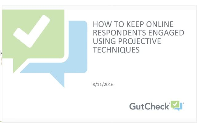 How to Keep Online Respondents Engaged Using Projective Techniques