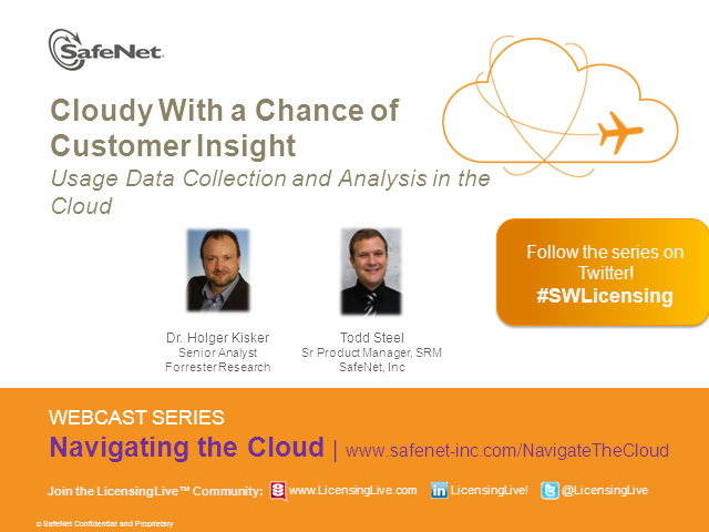 Customer Insight: Usage Data Collection and Analysis in the Cloud