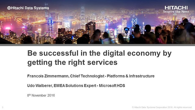 Be successful in the digital economy by getting the right services