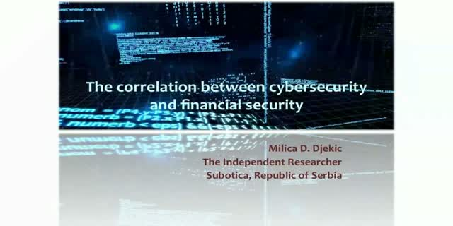 The Correlation Between Cybersecurity and Financial Security