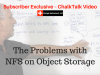 The Problems with NFS on Object Storage