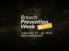 Breach Prevention Week Teaser - September 19-22