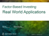 Case Studies in Factor Investing: Real World Practicalities Unwrapped