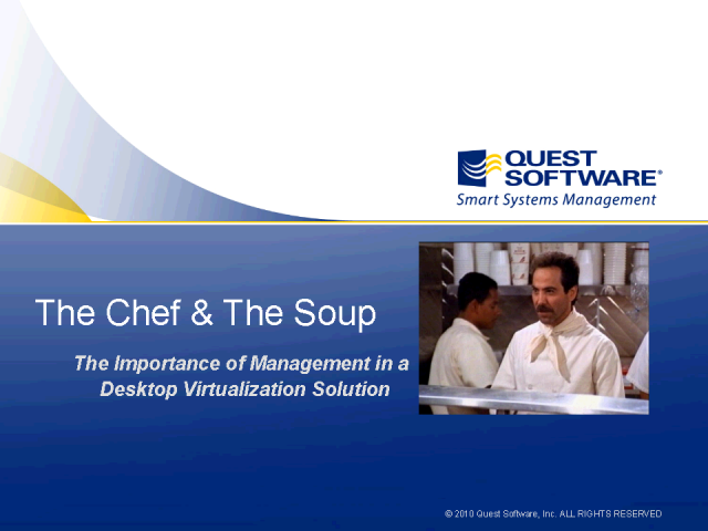 The Importance of Management in Workspace Virtualization