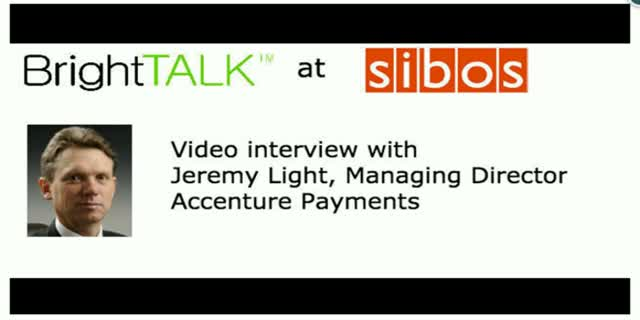 Video interview: Helping clients manage the transition to a cashless society