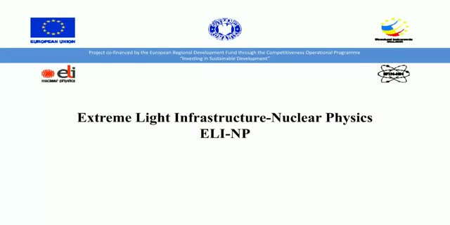 Come and work for ELI-Nuclear Physics