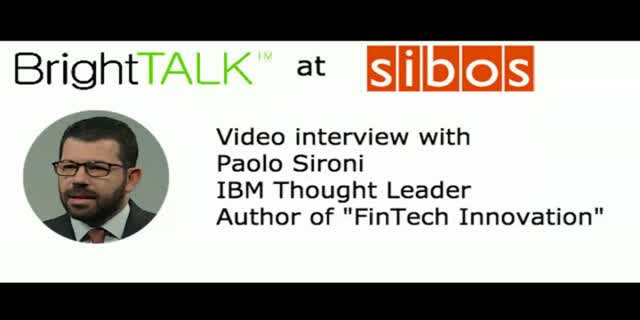 Video interview: Helping banks transform their business models