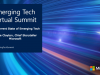 The Current State of Emerging Tech [Emerging Tech Virtual Summit]