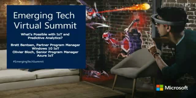 What's Possible with IoT and Predictive Analytics [Emerging Tech Virtual Summit]