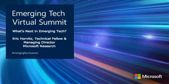 What's Next in Emerging Tech? [Emerging Tech Virtual Summit]