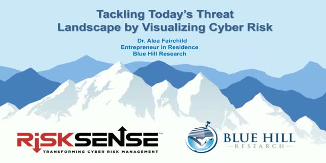 Tackling Today's Threat Landscape by Visualizing Cyber Risk