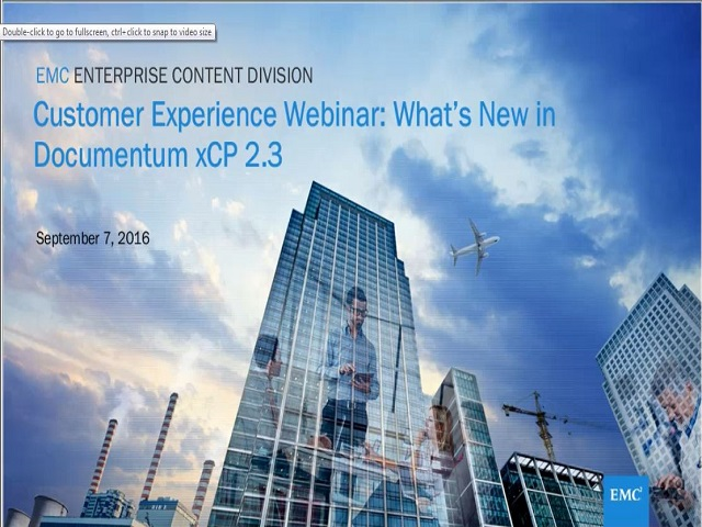 Building rich applications and reducing TCO with Documentum xCP