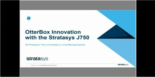 Consumer Product Innovation with Stratasys J750 3D Printer