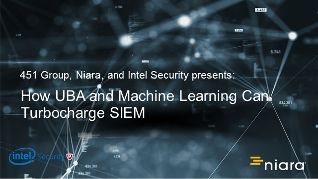 How UBA and Machine Learning Can Turbocharge SIEM