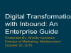 Digital Transformation with Inbound: An Enterprise Guide
