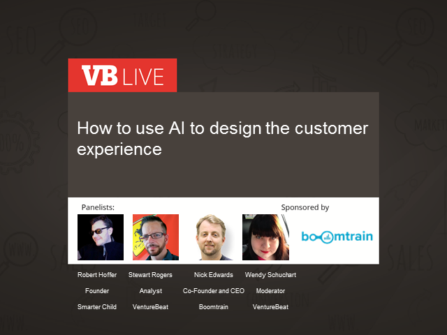 How to use AI in designing the customer experience