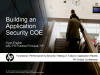Building an Application Security COE