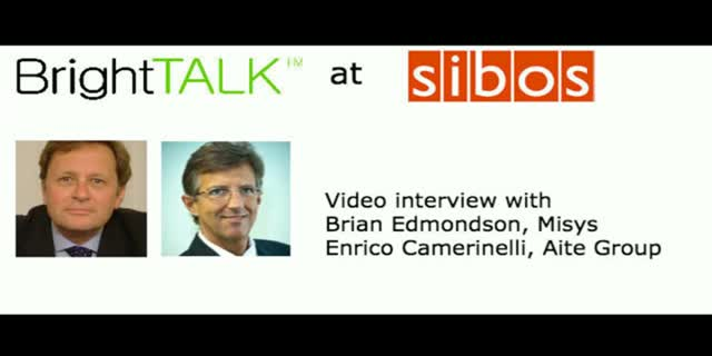 Video interview: Bridging the gap between operations and finance