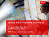 Security and the Payments Environment