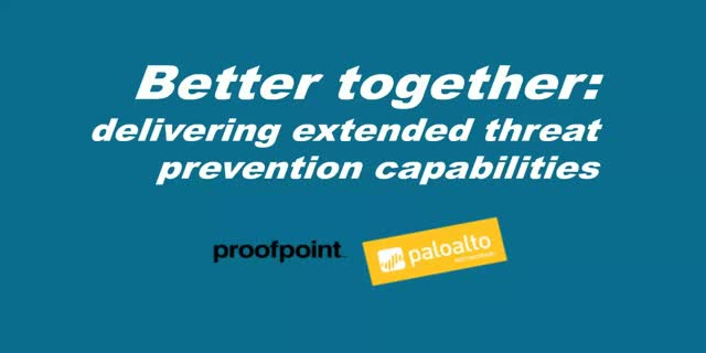 BrightTALK: Proofpoint Canada Tech Talk Webinar: Better Together