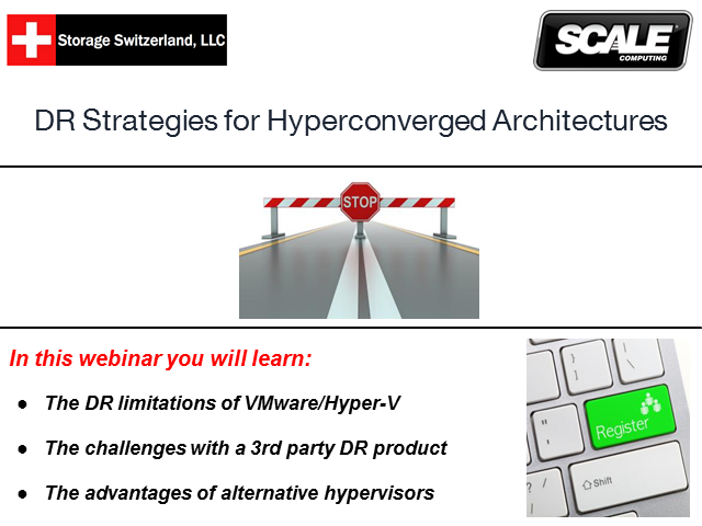 DR Strategies For Hyperconverged Architectures