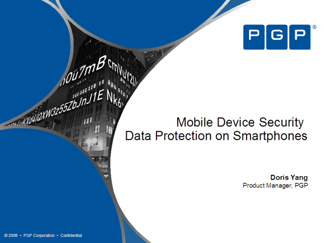 Mobile Device Security – Data Protection on Smartphones