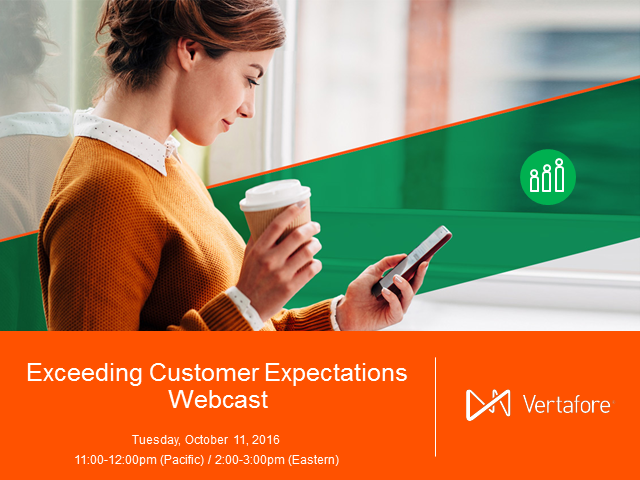 Exceeding Customer Expectations Webcast