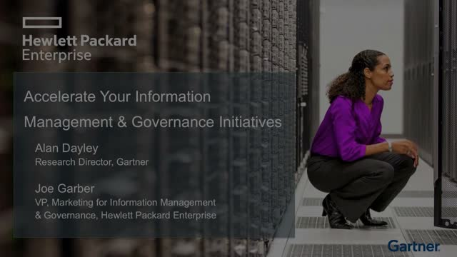 Accelerate Your Information Management & Governance Initiatives