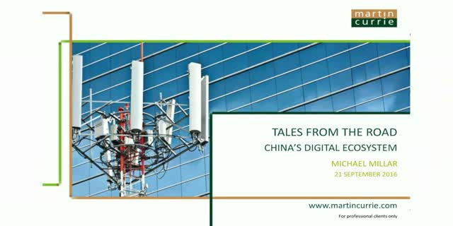 Tales from the road: China's digital ecosystem