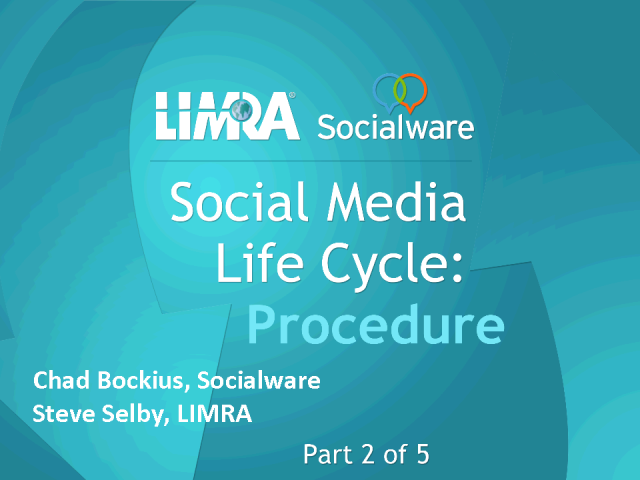 Social Media Life Cycle - Procedure
