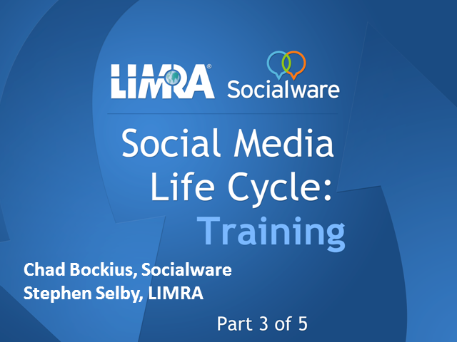 Social Media Life Cycle - Training