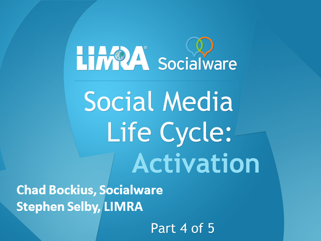 Social Media Life Cycle - Activation
