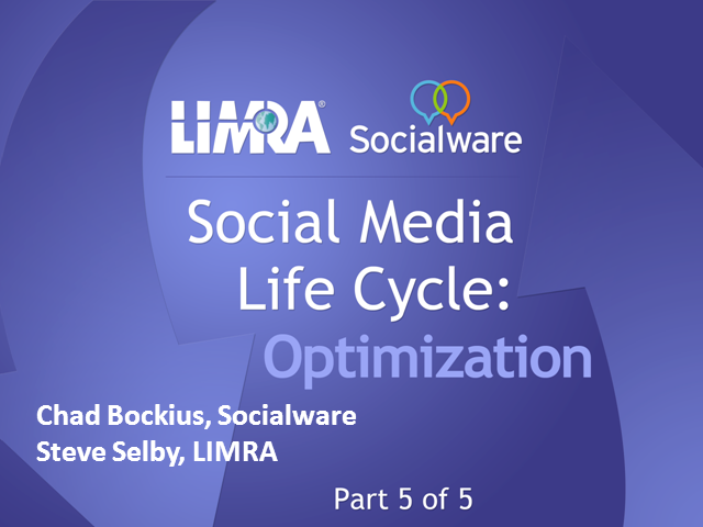 Social Media Life Cycle - Optimization