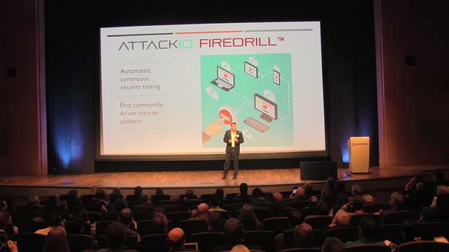 AttackIQ Presents at Qualcomm EvoNexus Demo Day Spring 2016
