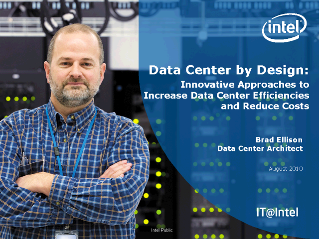 Data Center by Design: Increase Efficiency While Reducing Cost