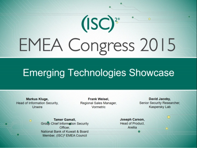 Emerging Technologies Showcase