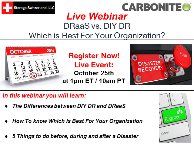 DRaaS vs. DIY DR - Which is Best For Your Organization?
