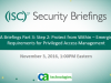 CA Briefings Part 3: Step 2: Protect from Within - Requirements for PAM