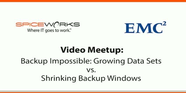 Backup Impossible: Growing Data Sets vs. Shrinking Backup Windows