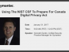 Using the NIST CSF to prepare for Canada Digital Privacy Act
