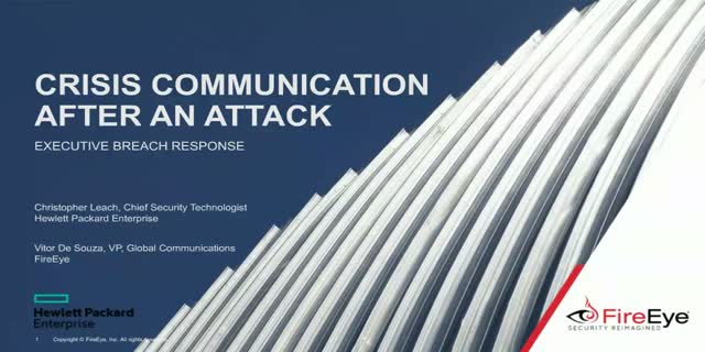 Crisis Communication After an Attack